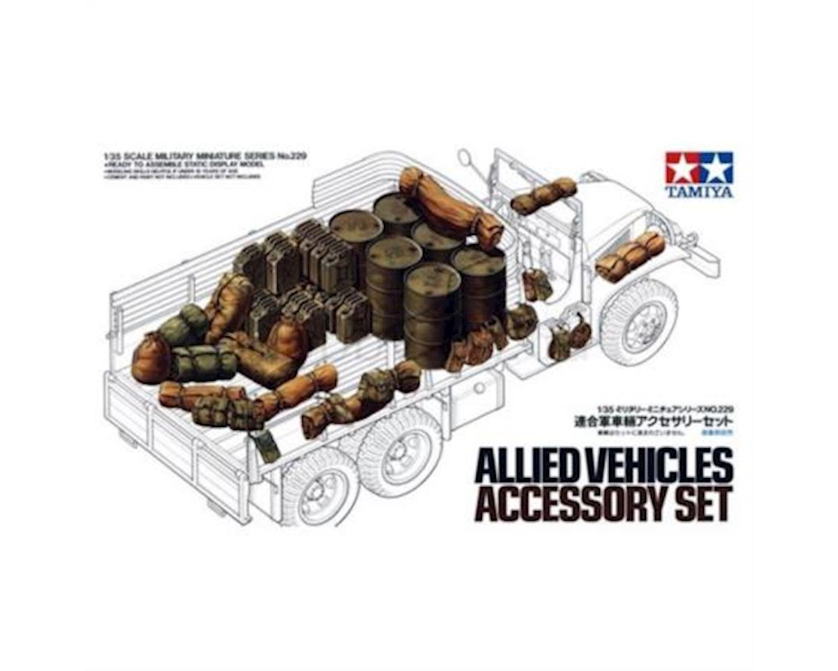 1/35 Allied Vehicle Accessories by Tamiya