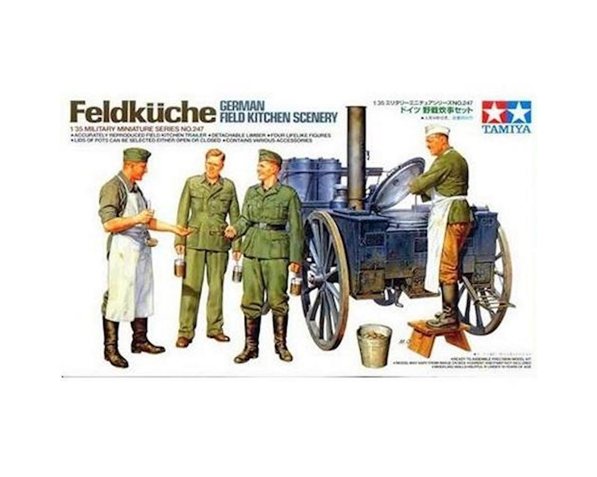Tamiya 1/35 German Field Kitchen Scenery