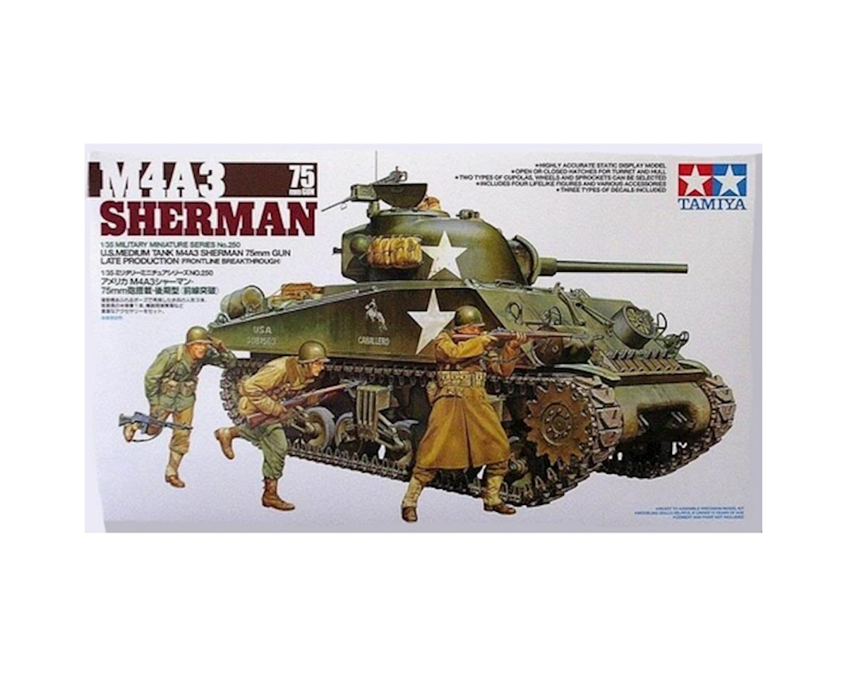 1 35 M4A3 SHERMAN 75MM by Tamiya