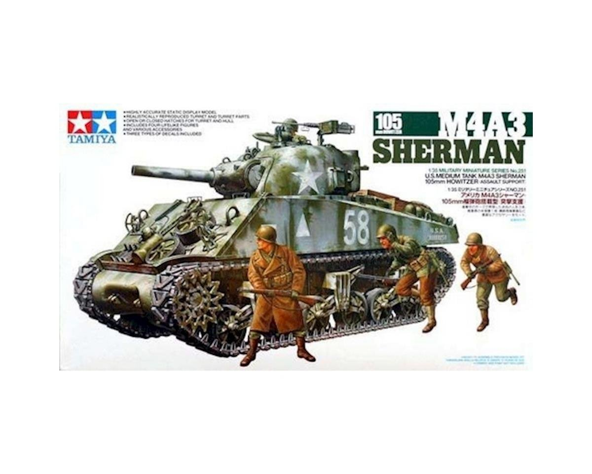 1/35 M4A3 Sherman 105mm by Tamiya