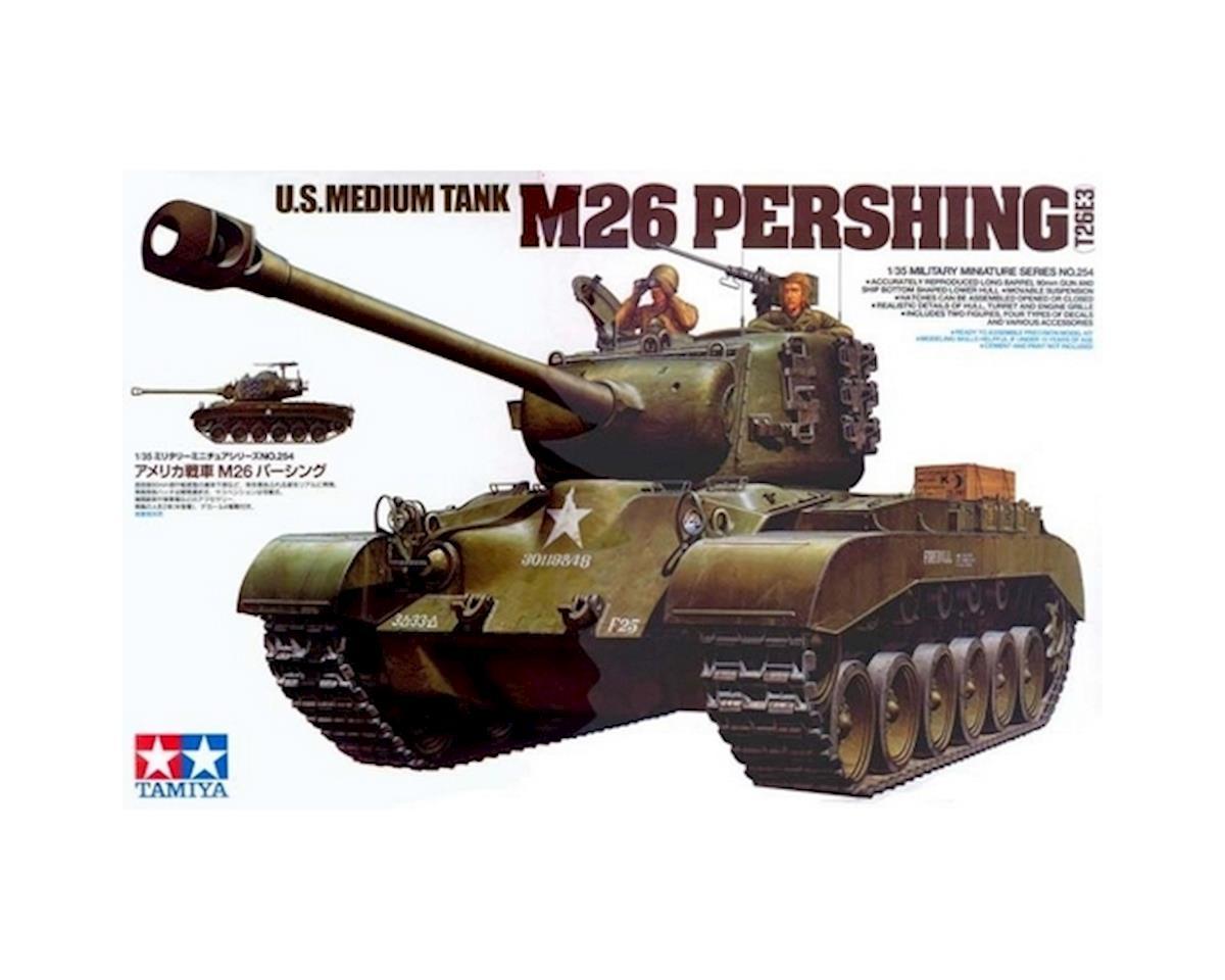 Tamiya 1/35 US Med Tank M26 Pershing T26E3