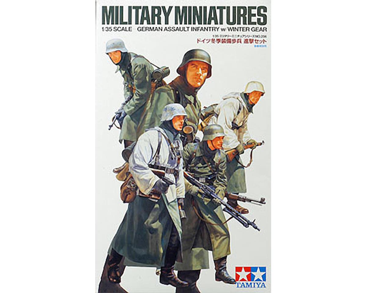 35256 1/35 German Assault Infantry w/Winter Gear by Tamiya