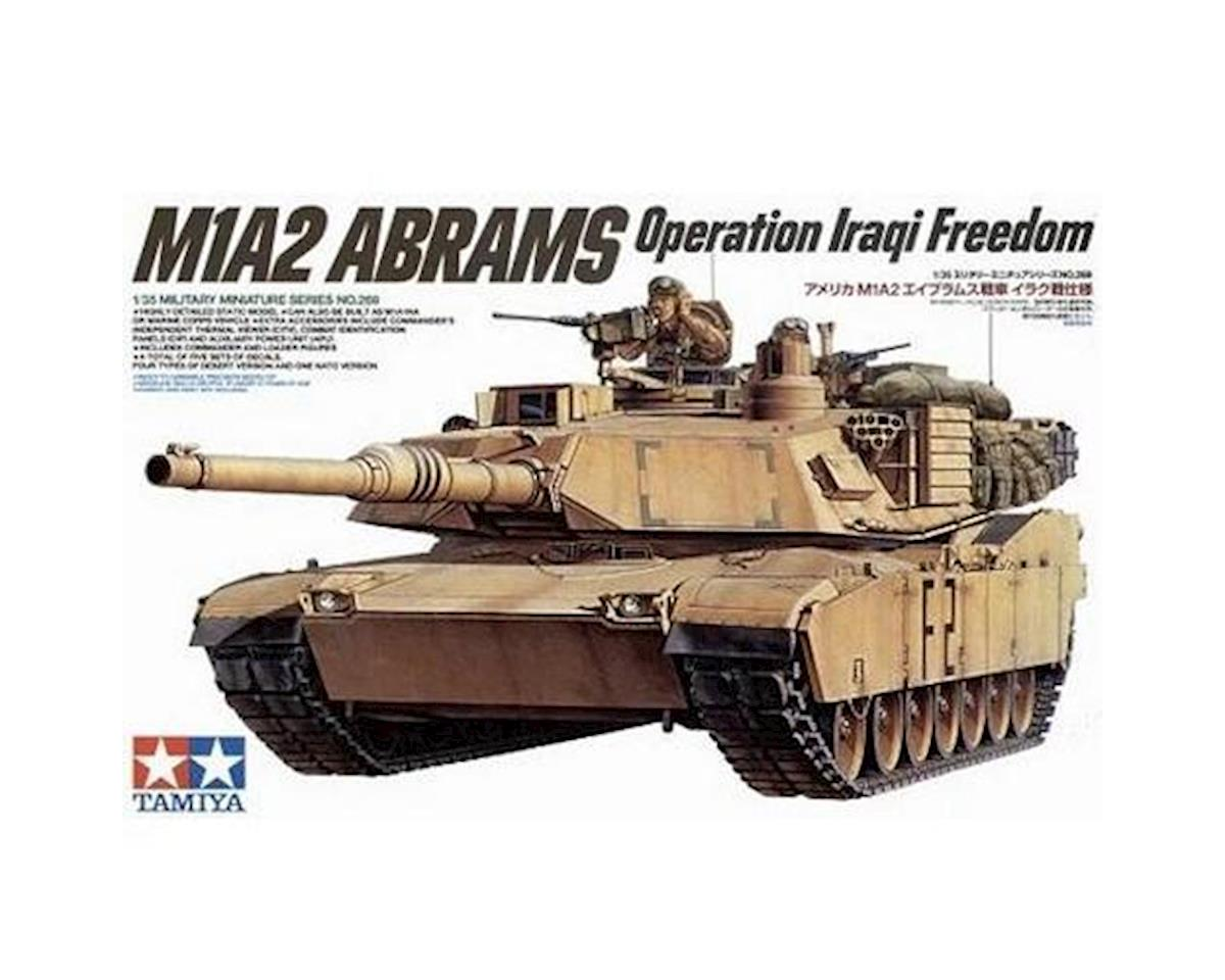 1 35 US M1A2 ABRAM120MM G by Tamiya