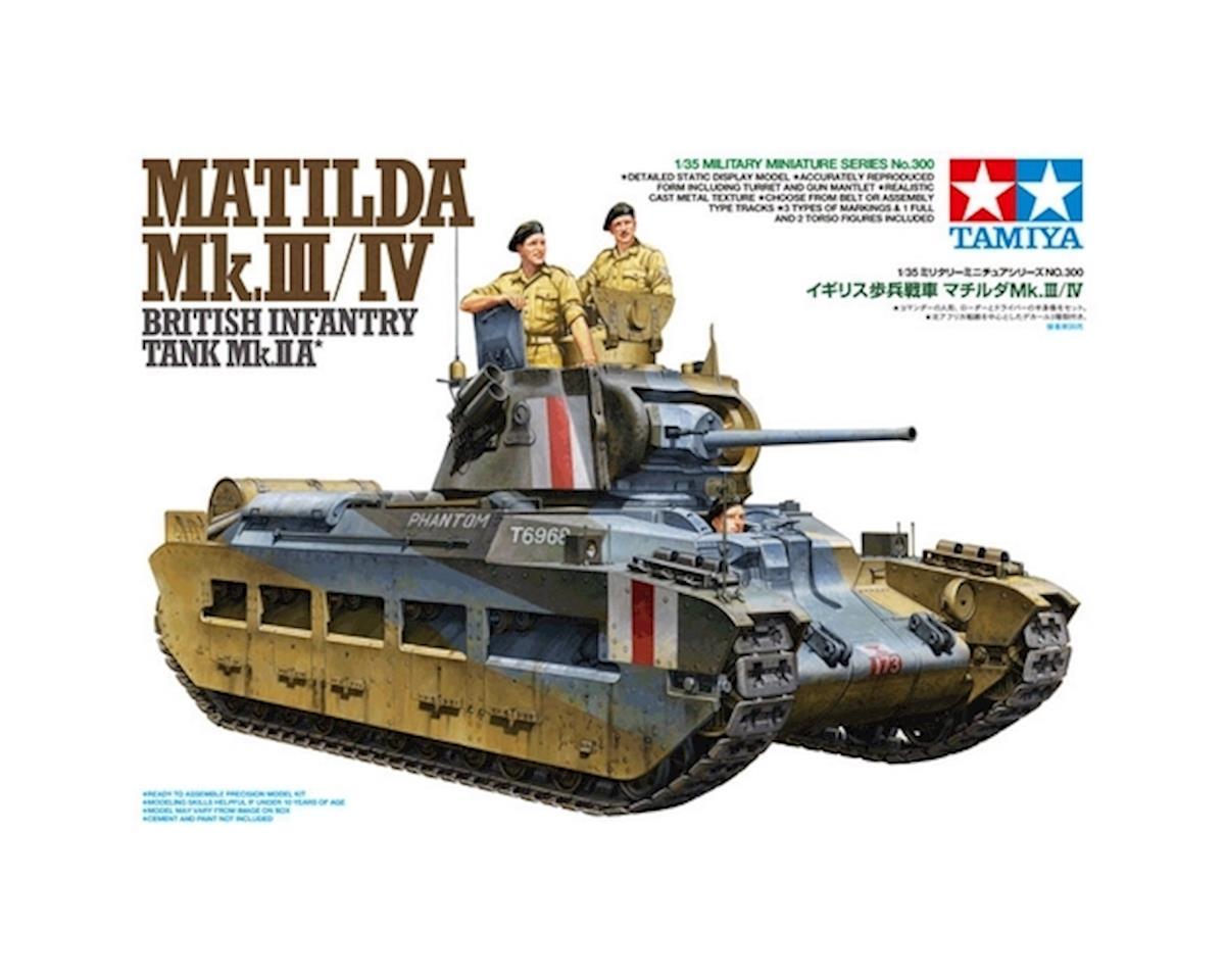 1/35 Matilda Mk.III/IV Infantry Tank by Tamiya