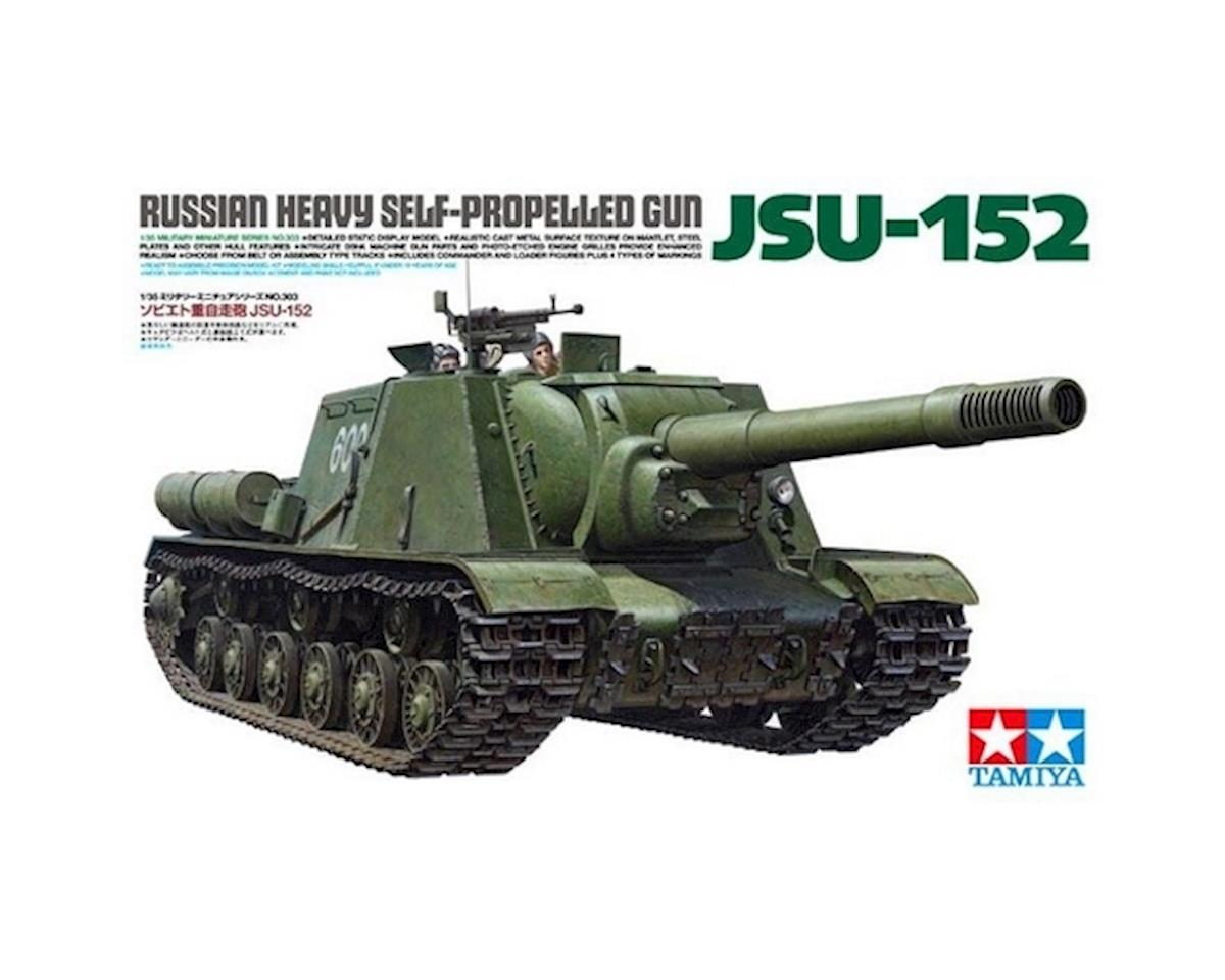 1/35 Russian Heavy SP Gun JSU-152 by Tamiya