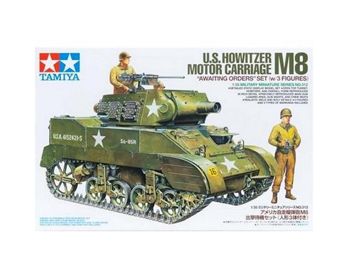 Tamiya 1/35 US Howitzer Motor Carriage M8 w/ 3 Figures