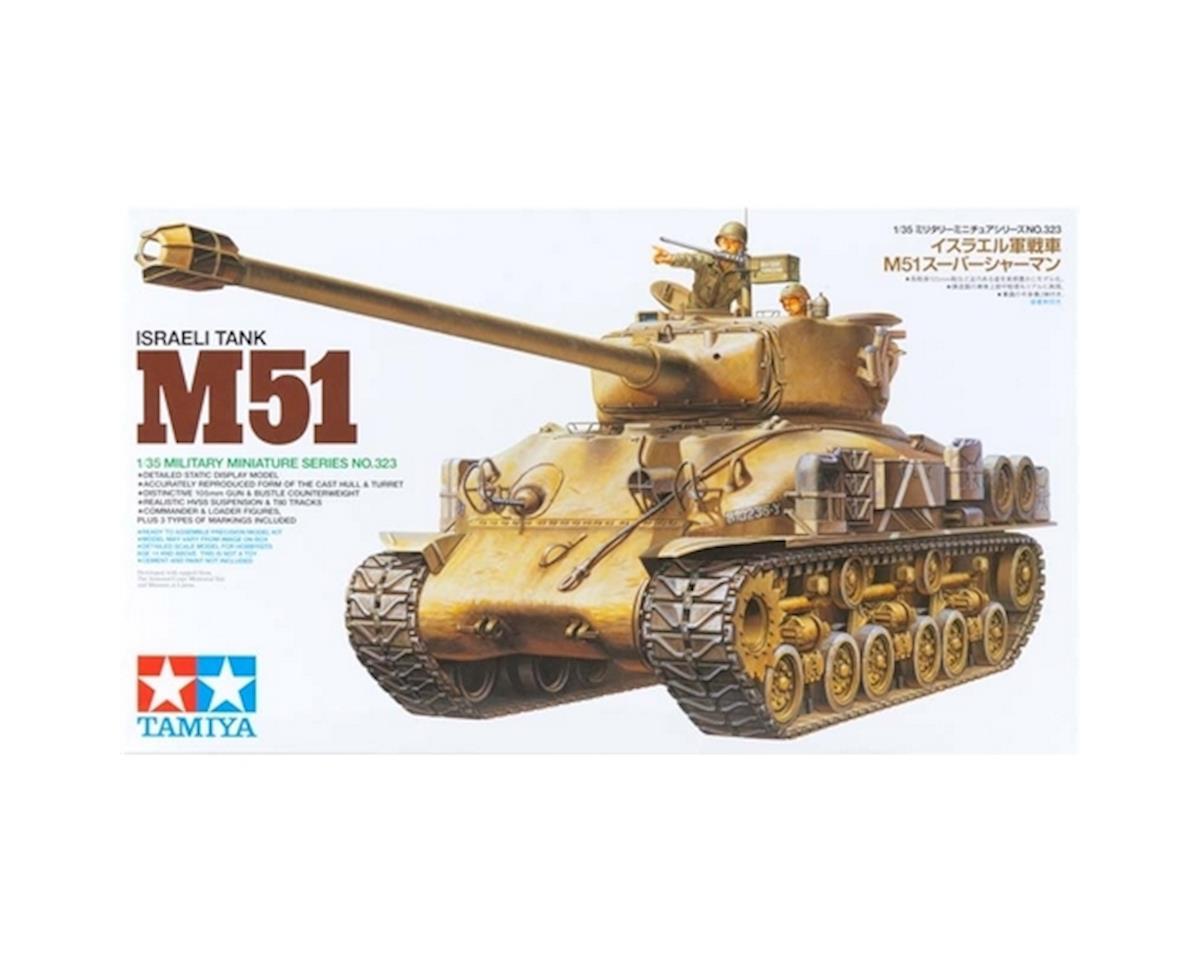 Tamiya 1/35 Israeli Tank M51