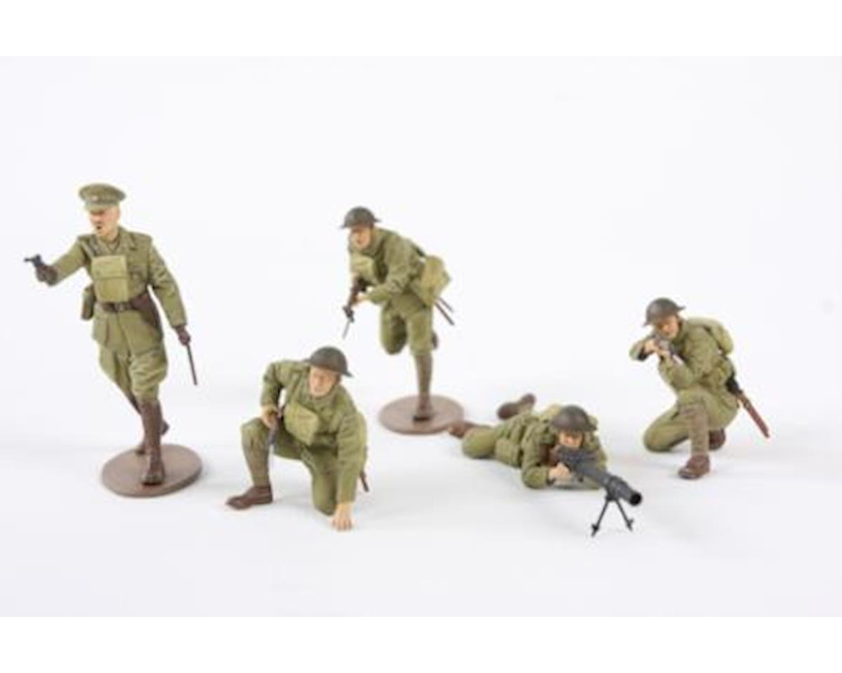 Tamiya 1/35 WWI British Infantry (5) (New Tool)