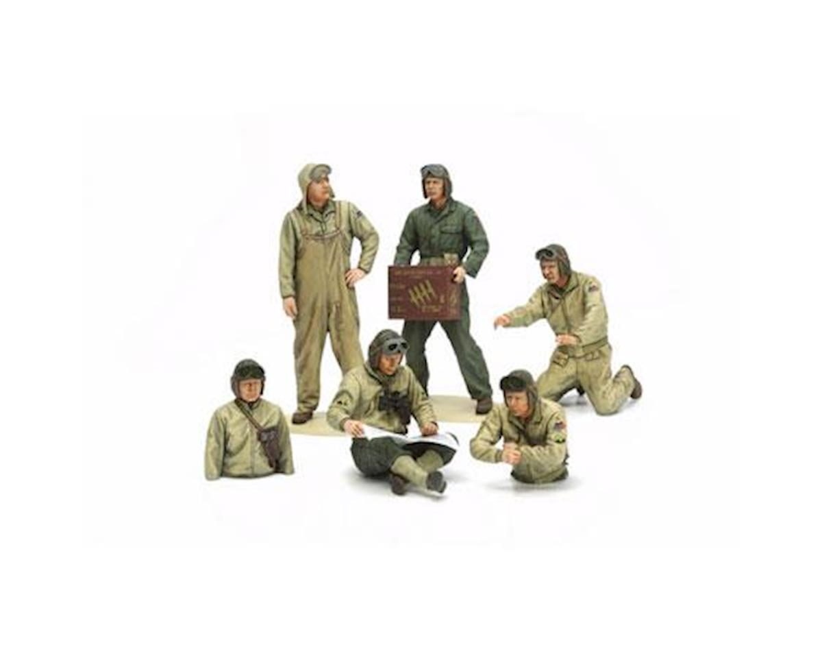 Tamiya 1/35 US Tank Crew Set,  European Theater