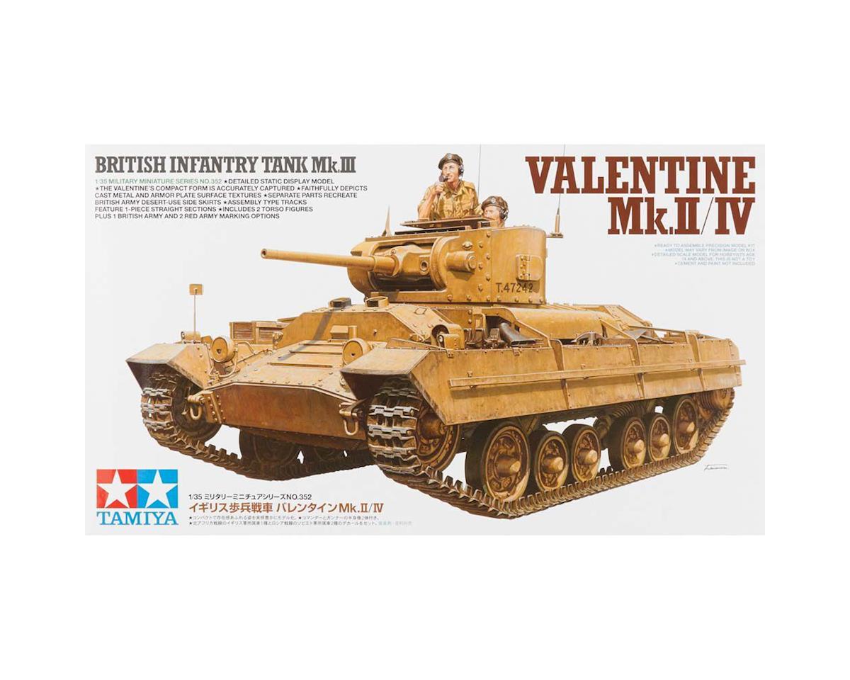Tamiya 1/35 Brit Infantry Tank Mk.III Valentine Mk.II/IV