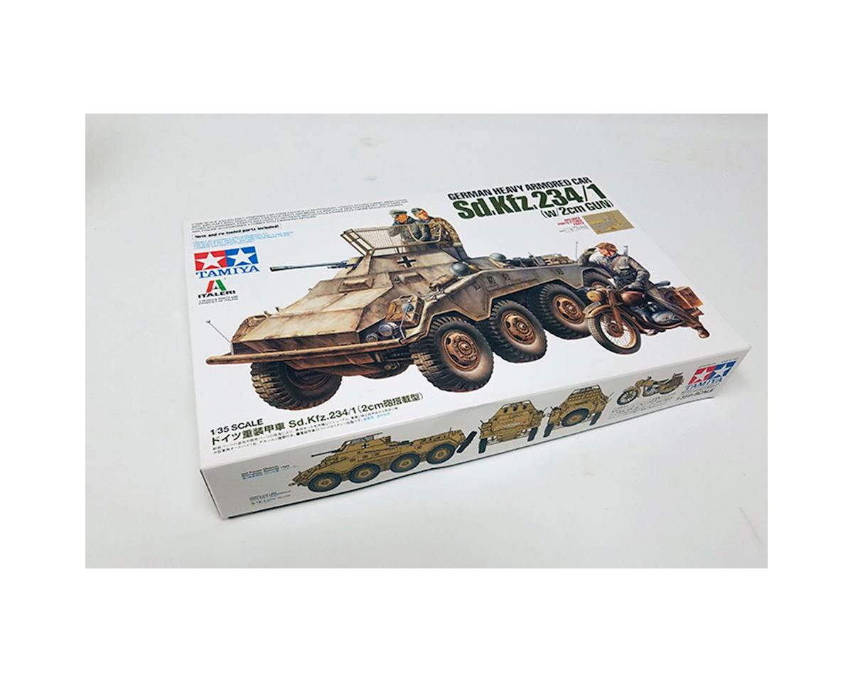 37049, German Heavy Armored Car Sd.Kfz.234/1 by Tamiya