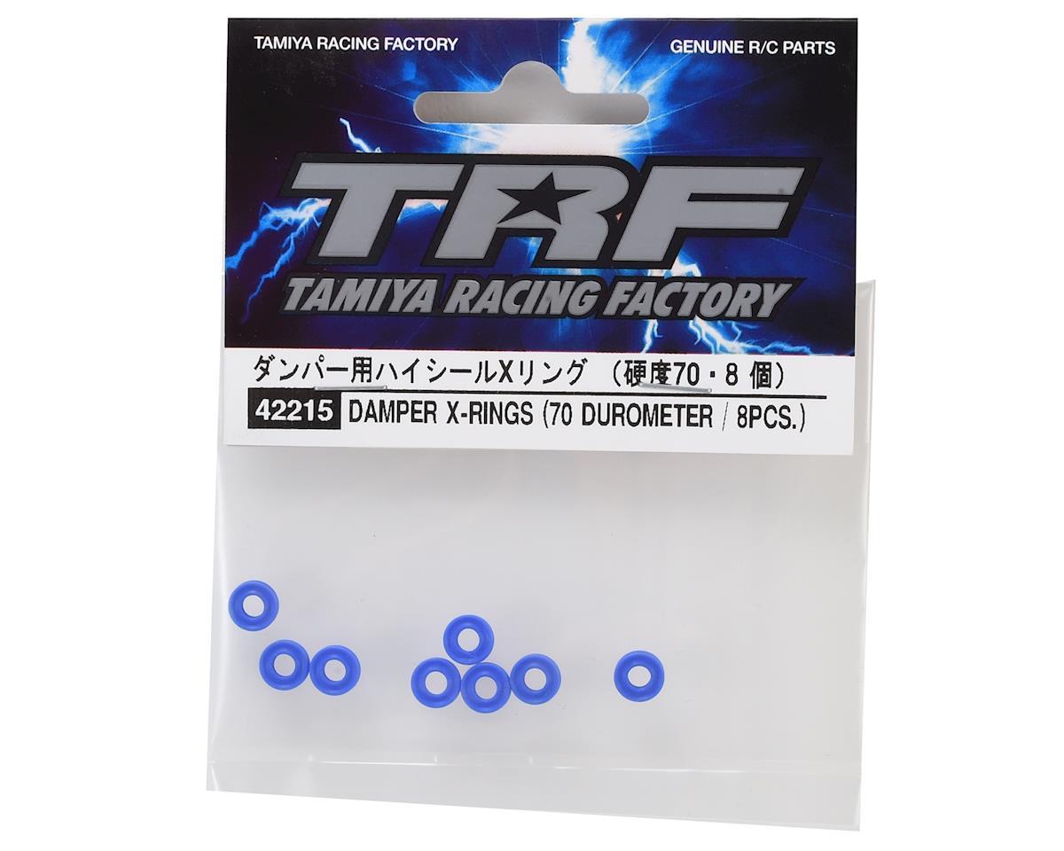 Tamiya TRF Damper X-Rings (8) (70 Durometer)