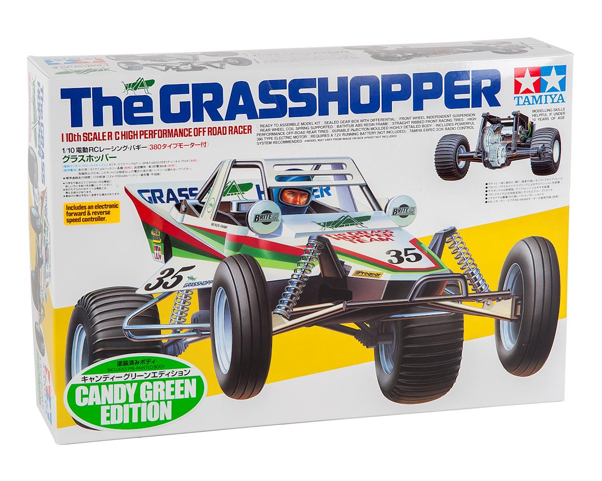 "Tamiya Grasshopper ""Candy Green Limited Edition"" 1/10 Off-Road 2WD Buggy Kit"