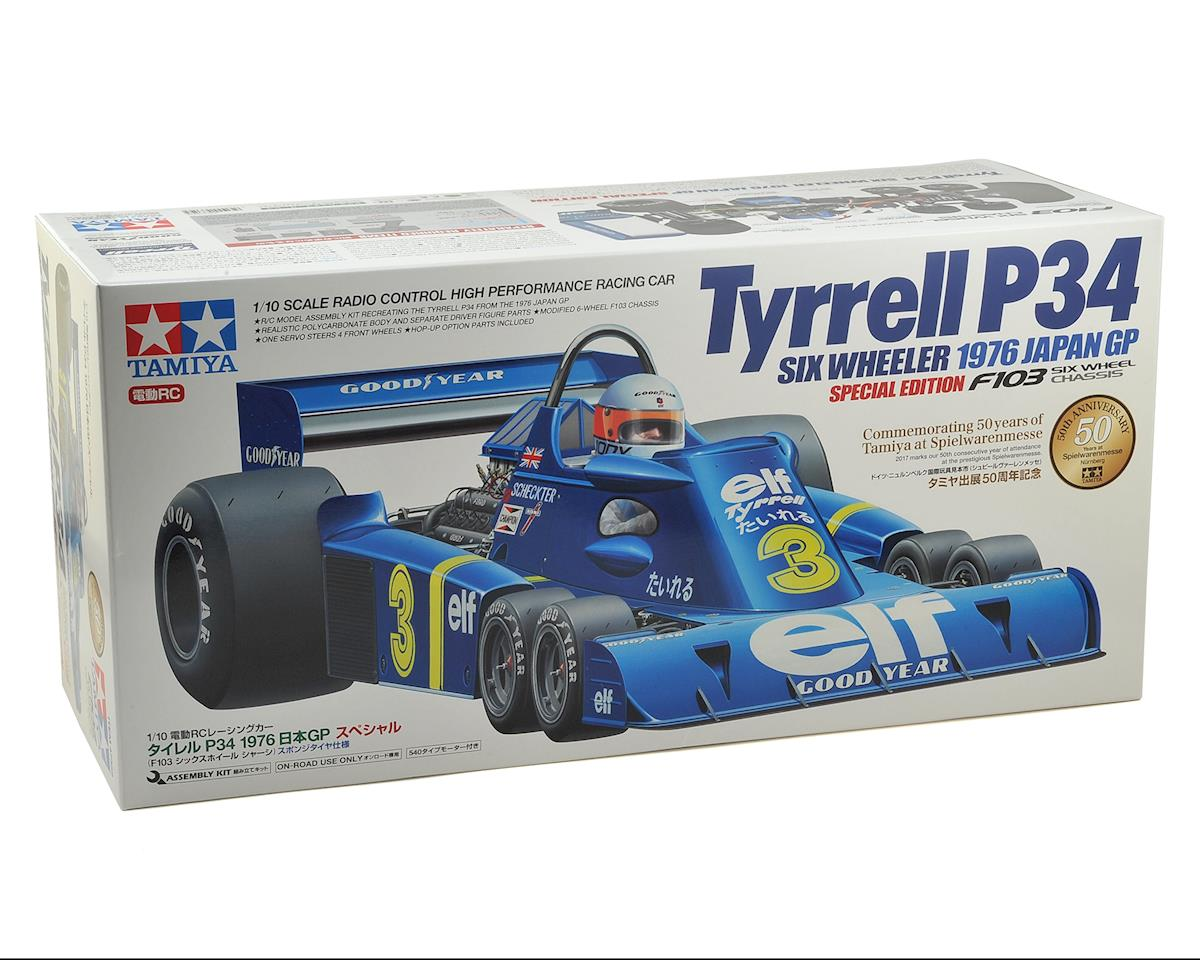 Tamiya Tyrrell P34 Six Wheeler F1 Car 1976 Japan GP Special Edition