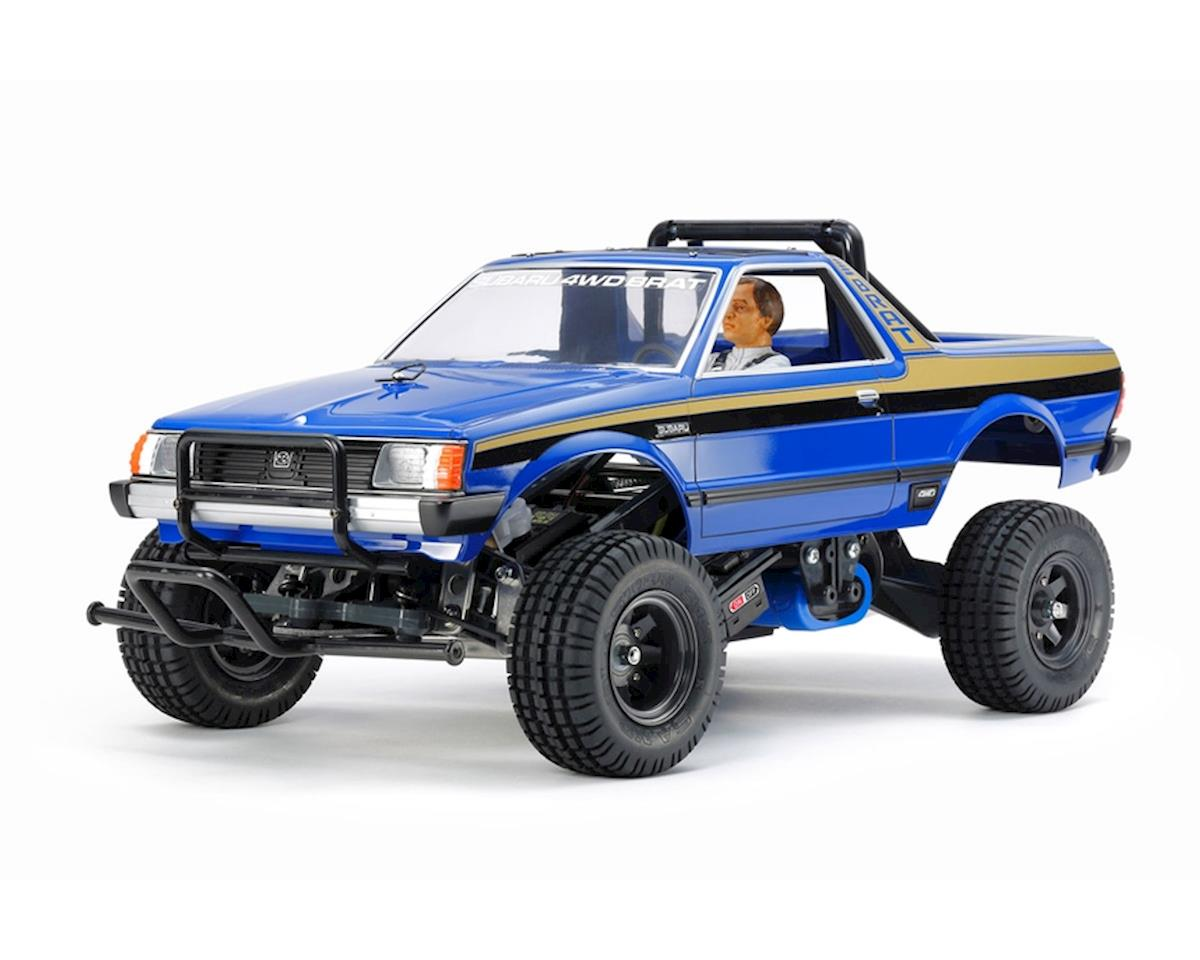 Tamiya Subaru Brat Limited Edition 1/10 Off-Road 2WD Pick-Up Truck Kit (Blue)