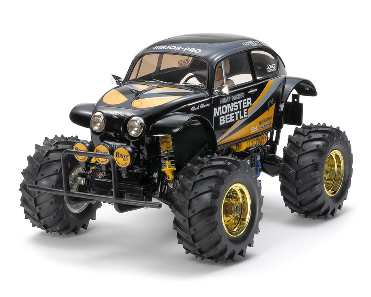Tamiya Monster Beetle 2015 2WD Monster Truck Black Edition Kit