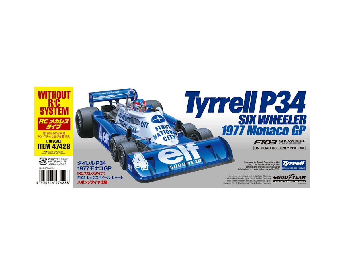 Tamiya RC Tyrrell P34 1977 Monaco GP F103 Six Wheeler Pre-Painted