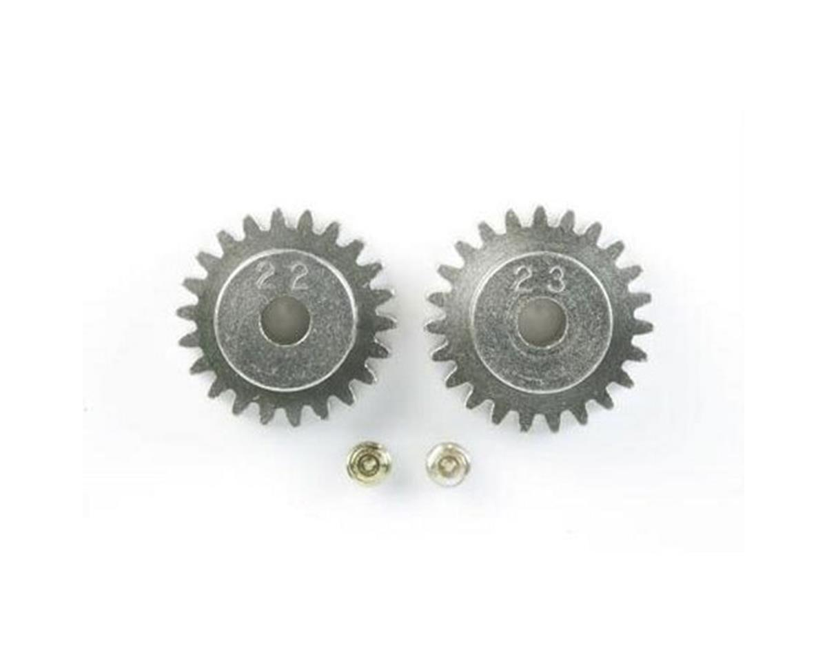 48P AV Pinion Gear Set (22T & 23T) by Tamiya