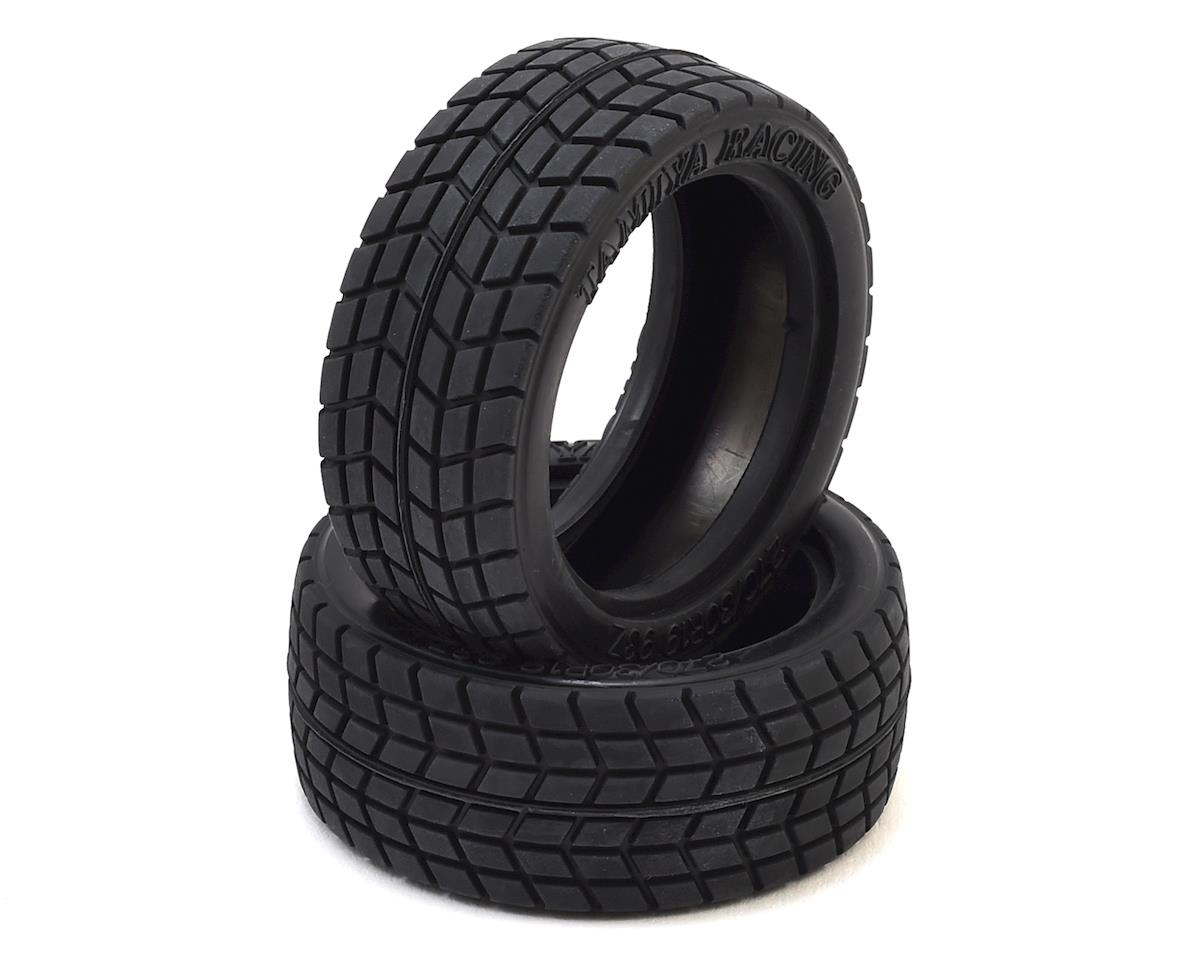 Tamiya Racing Radial Tire Set (2)
