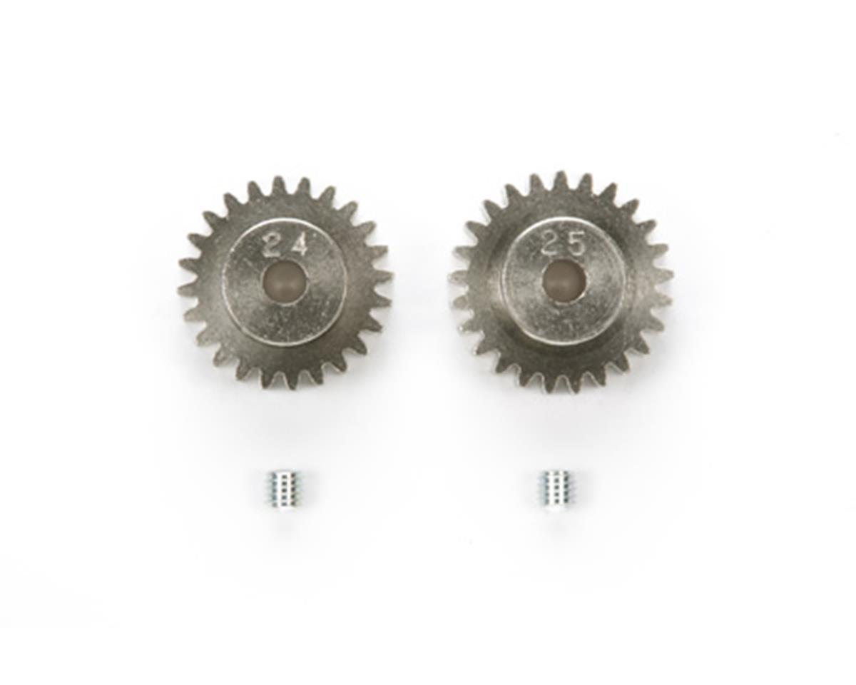 48P AV Pinion Gear Set (24T & 25T) by Tamiya