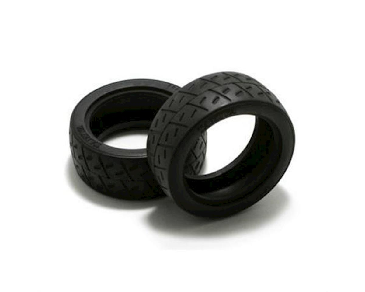 Tamiya MAN TGS 1/14 Semi Slick Racing Tires (2)