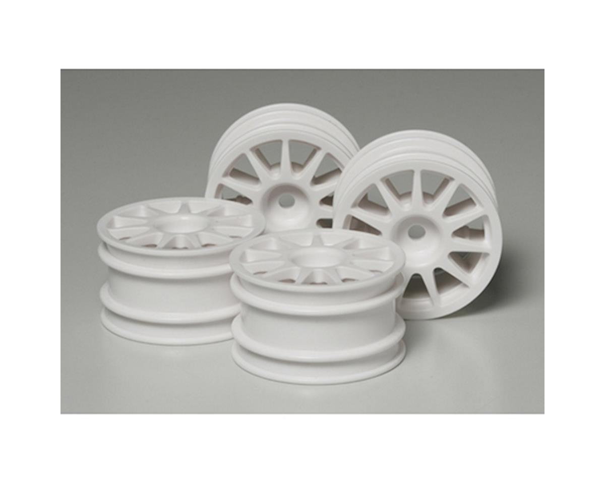Tamiya Suzuki Swift/M-Chassis Wheels White (4)