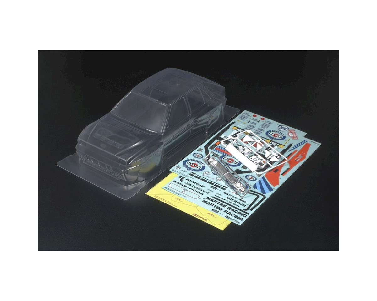 Lancia Delta Body Set (Clear) by Tamiya