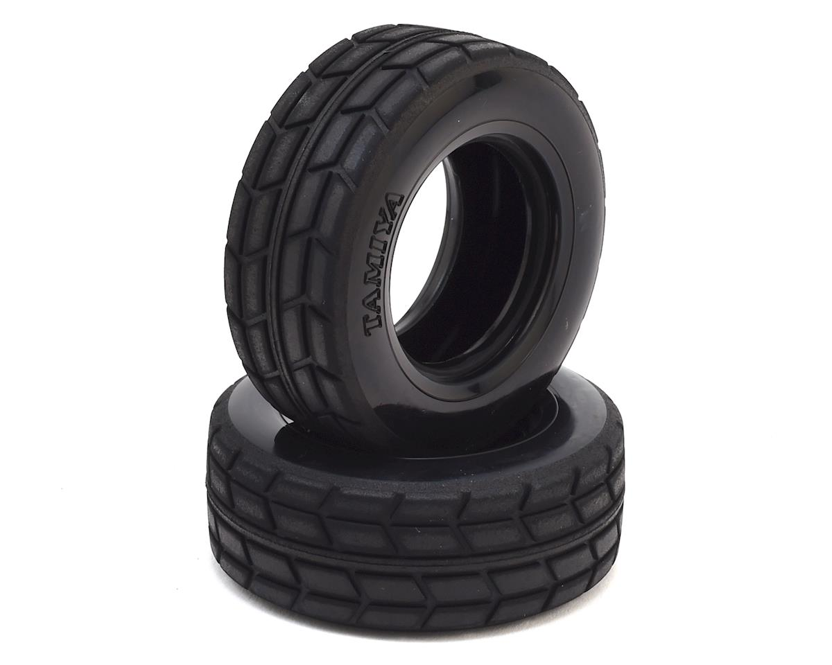 On-Road TT-01 / TT-02 Racing Semi Truck Tires (2) by Tamiya