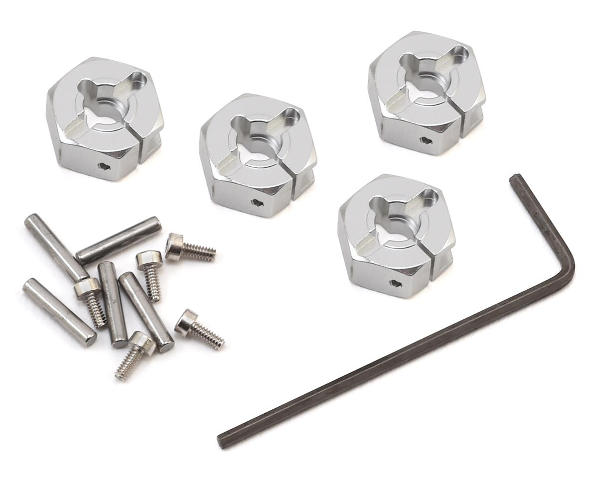 Tamiya Aluminum 6mm Clamp Type Wheel Hub Set