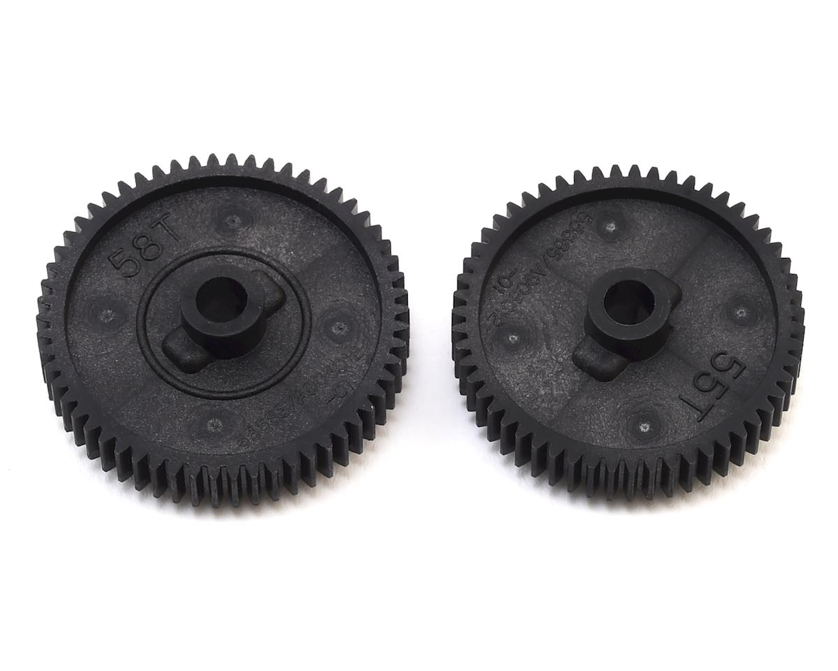 TT-01 Spur Gear Set (55T/58T) by Tamiya