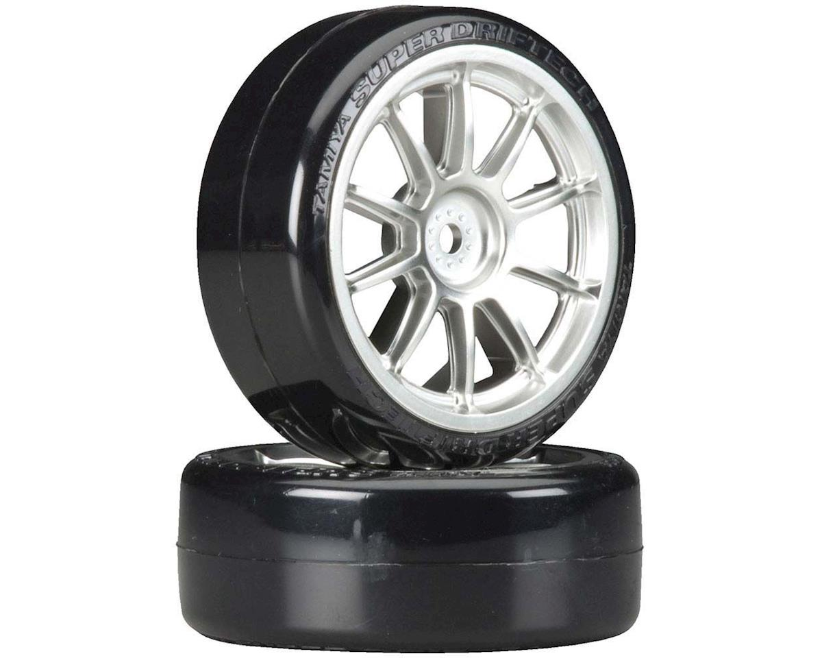 Metal Plated 10-Spoke Wheels with Cmntd Sup Driftech Tires, 24mm (2) | relatedproducts