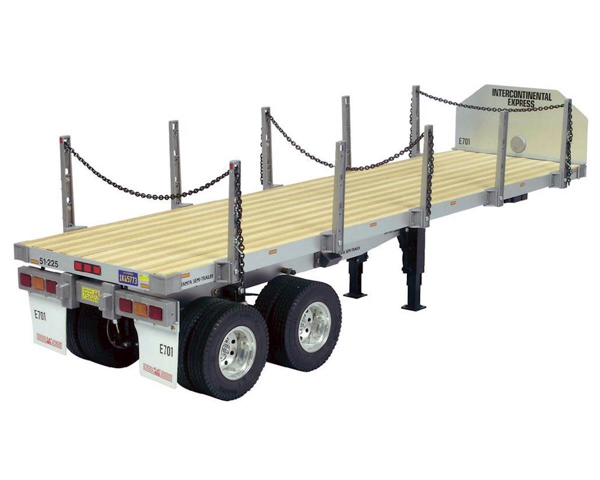 Tamiya 1 14 Semi Truck Flatbed Trailer Tam56306 Cars
