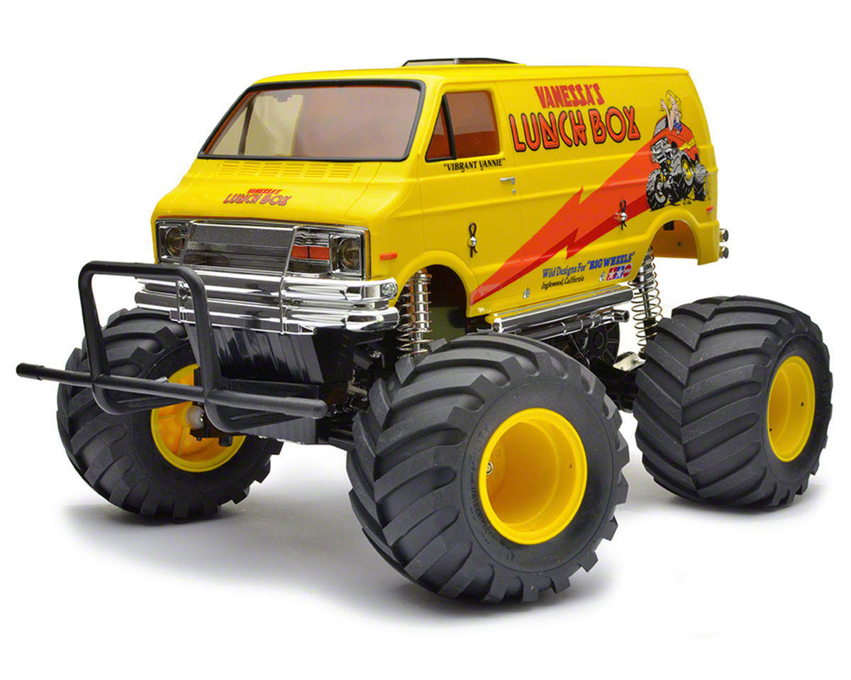 Lunch Box 2WD Electric Monster Truck Kit by Tamiya