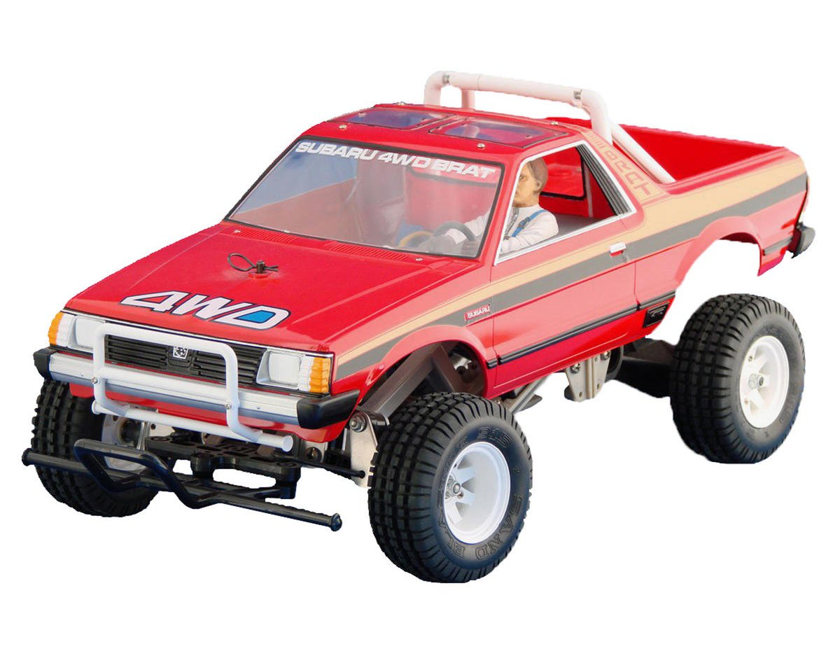 Tamiya Subaru Brat 1/10 Off-Road 2WD Pick-Up Truck Kit