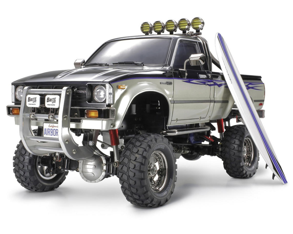Toyota Hilux High-Lift Electric 4X4 Scale Truck Kit by Tamiya