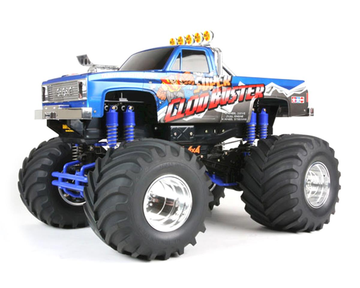 tamiya super clod buster 4wd monster truck kit tam58518 cars trucks amain hobbies. Black Bedroom Furniture Sets. Home Design Ideas
