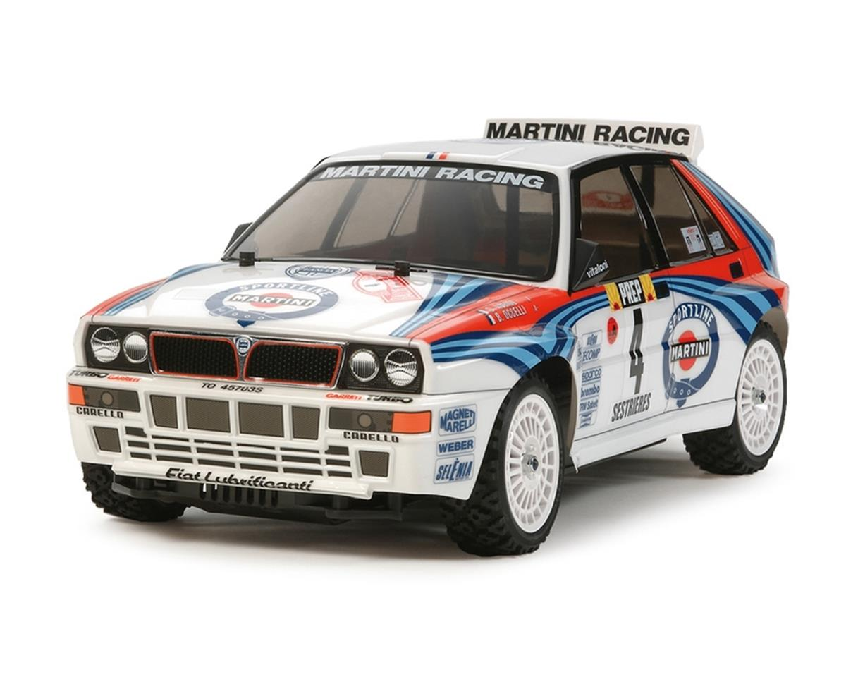 Tamiya XV-01 RTR 1/10 4WD Rally Car w/Lancia Delta Integrale Body