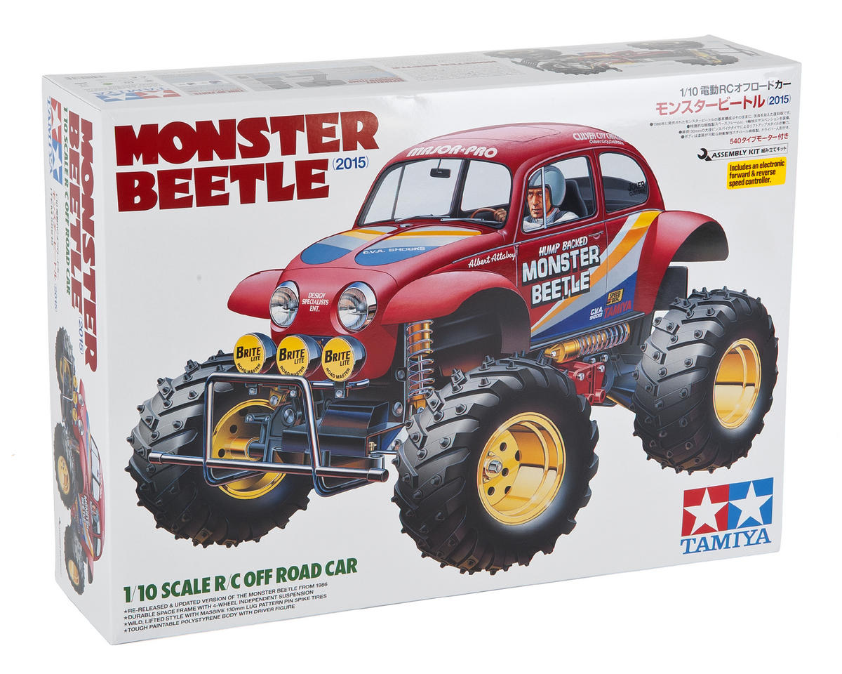 Tamiya Monster Beetle 2015 2WD Monster Truck Kit