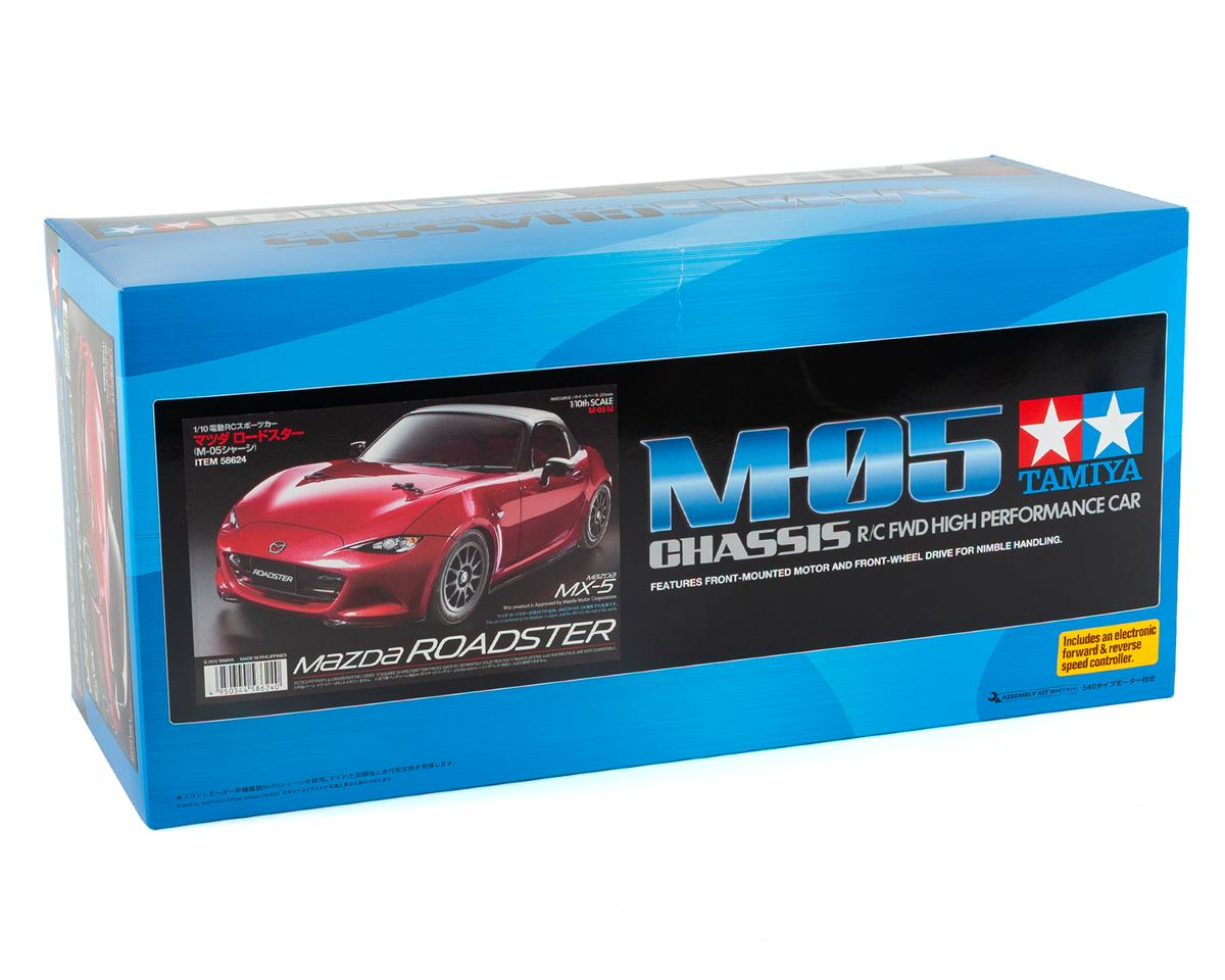 Tamiya Mazda MX-5 M-Chassis 1/10 FWD M-05 Electric Touring Car Kit