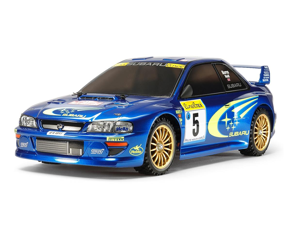 Subaru Impreza Monte-Carlo '99 1/10 4WD TT-02 Electric Rally Car Kit