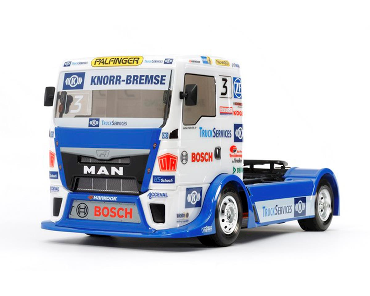 Team Hahn Racing MAN TGS 1/14 4WD On-Road Semi Truck by Tamiya