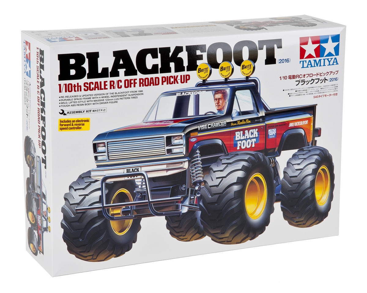 Tamiya Blackfoot Electric Monster Truck Kit