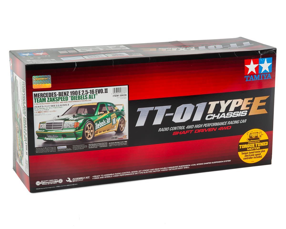 Image 3 for Tamiya Mercedes 190E 2.5-16 EvoII Diebels-Alt TT-01E 1/10 Touring Car Kit