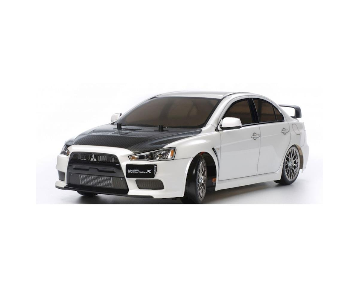 Mitsubishi Lancer Evo.X 1/10 4WD TT-02D Drift Spec Kit by Tamiya