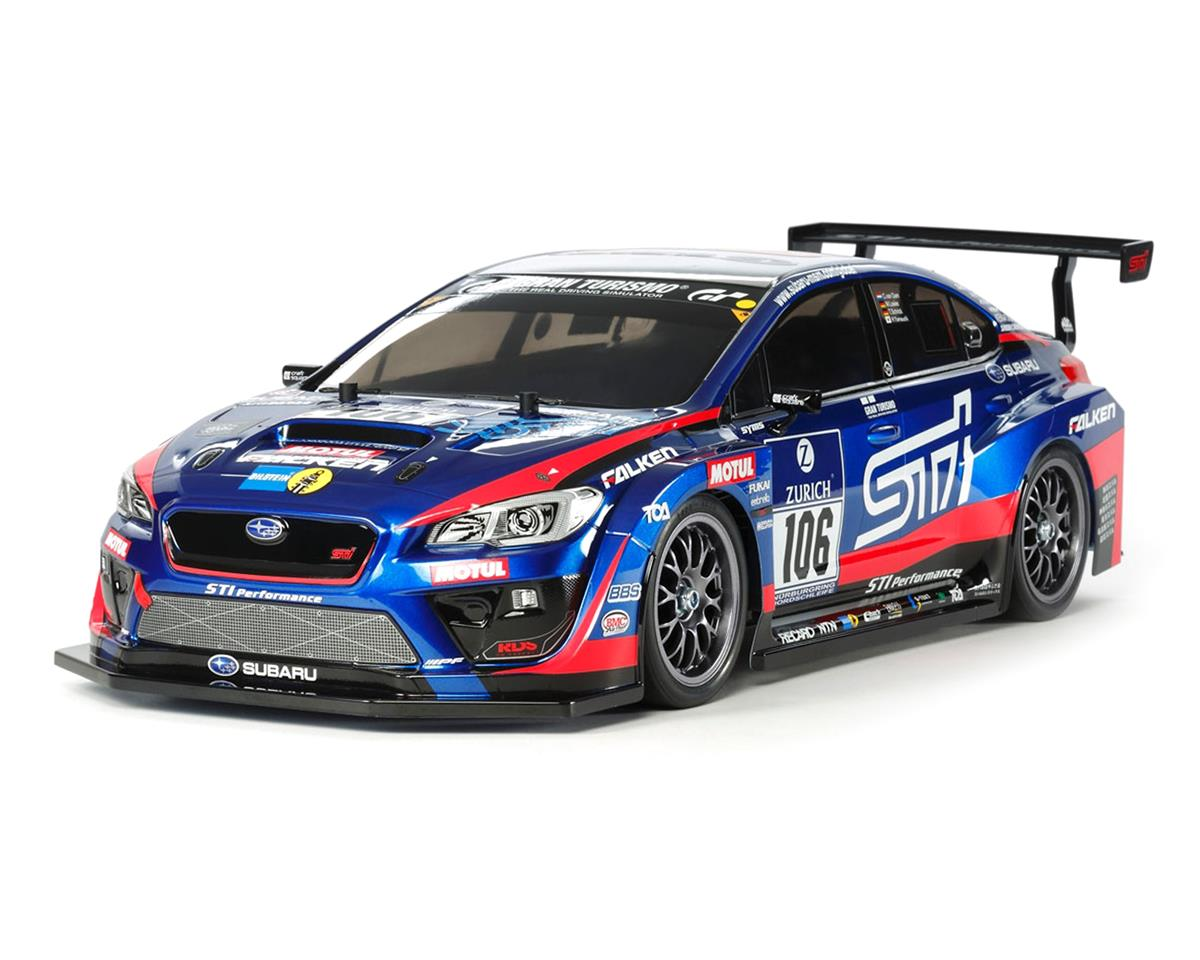 Tamiya Subaru WRX STI 24th Nurburgring 1/10 4WD TT-02 Electric Touring Car Kit