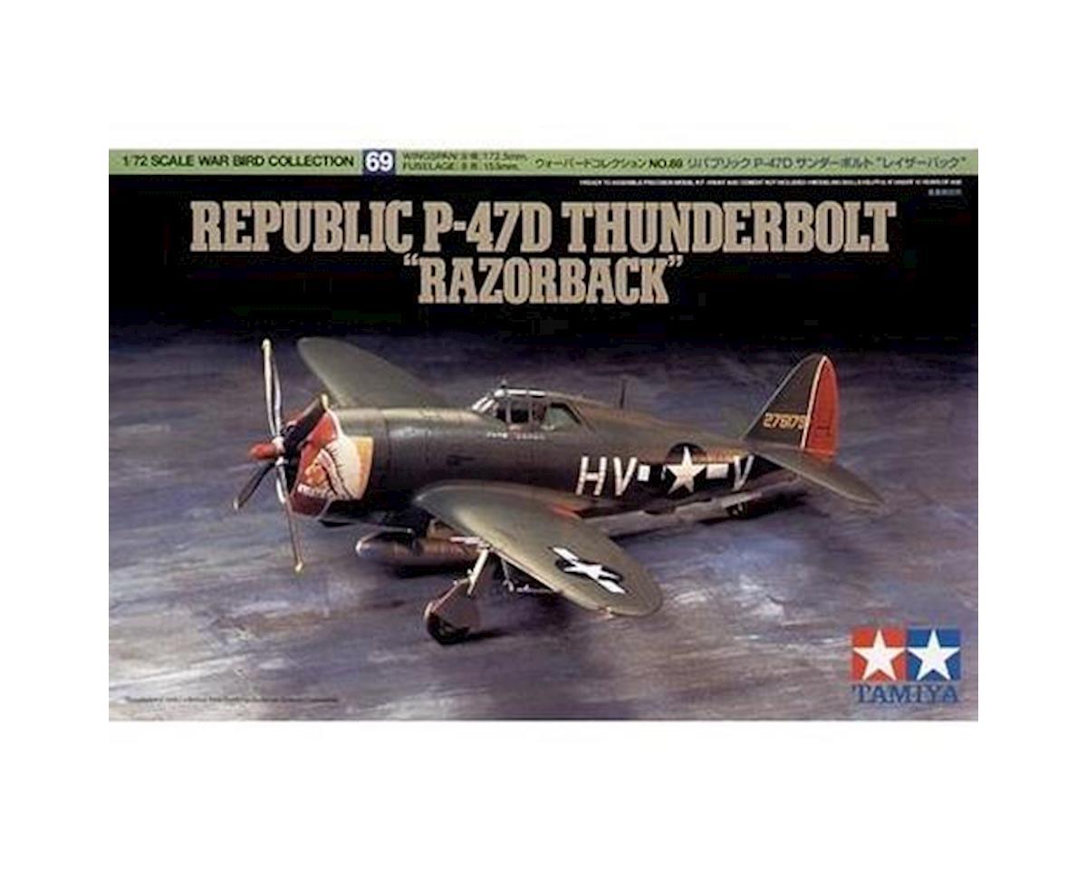 Tamiya 1/72 P-47D Thunderbolt Razorback