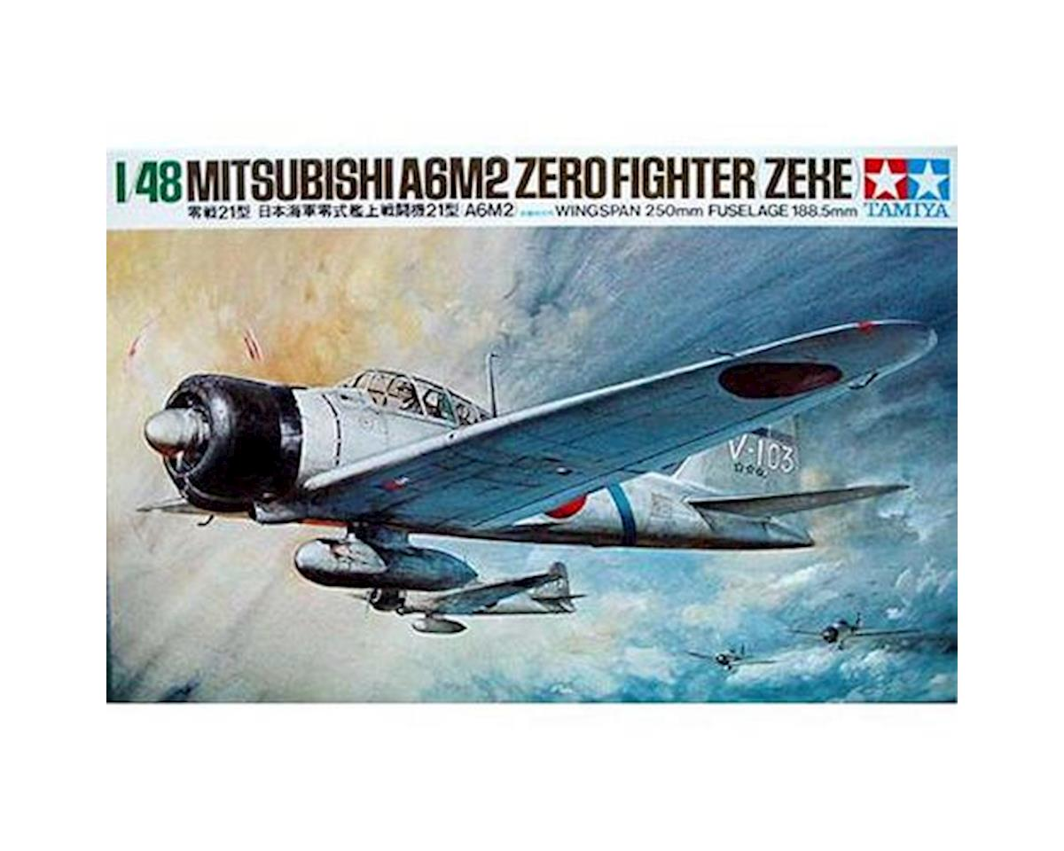 Tamiya 1/48 A6M2 Zero Fighter Type 21