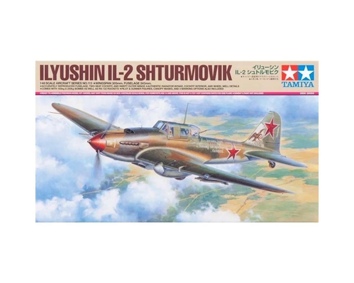 Tamiya 1/48 Ilyushin IL-2 Shturmovik Aircraft