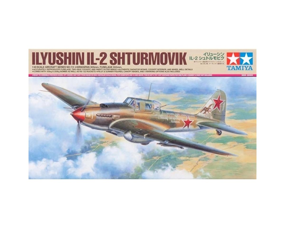 1/48 Ilyushin IL-2 Shturmovik Aircraft by Tamiya