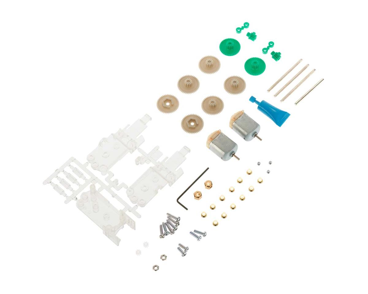69910 Twin Motor Gearbox Clear by Tamiya